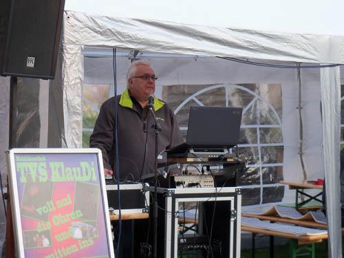Musik von DJ TVS KlauDi zum 11. Bikertreffen 2016 in Mötzlich