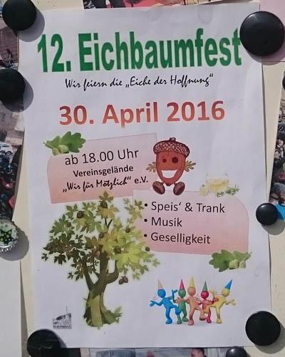 12. Eichbaumfest in Mötzlich